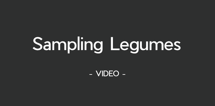 Instructional video for sampling your legumes for analysis